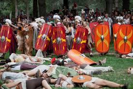 Batallas de los romanos